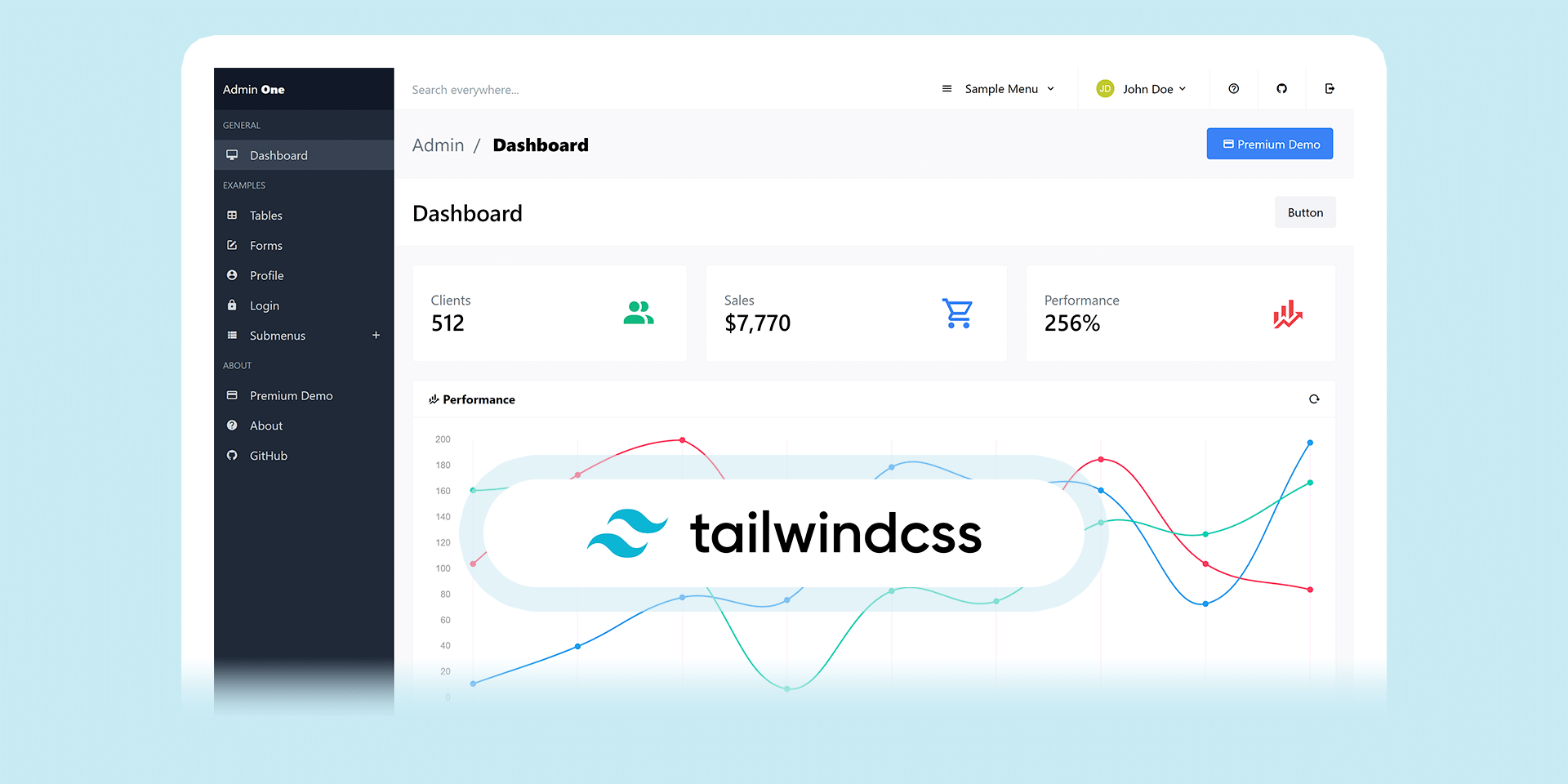 Admin One - Free Tailwind Admin Dashboard