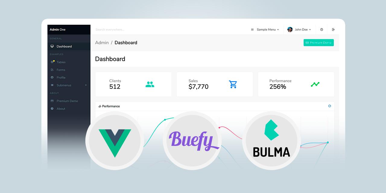 Admin One - Free Vue.js Bulma Admin Dashboard
