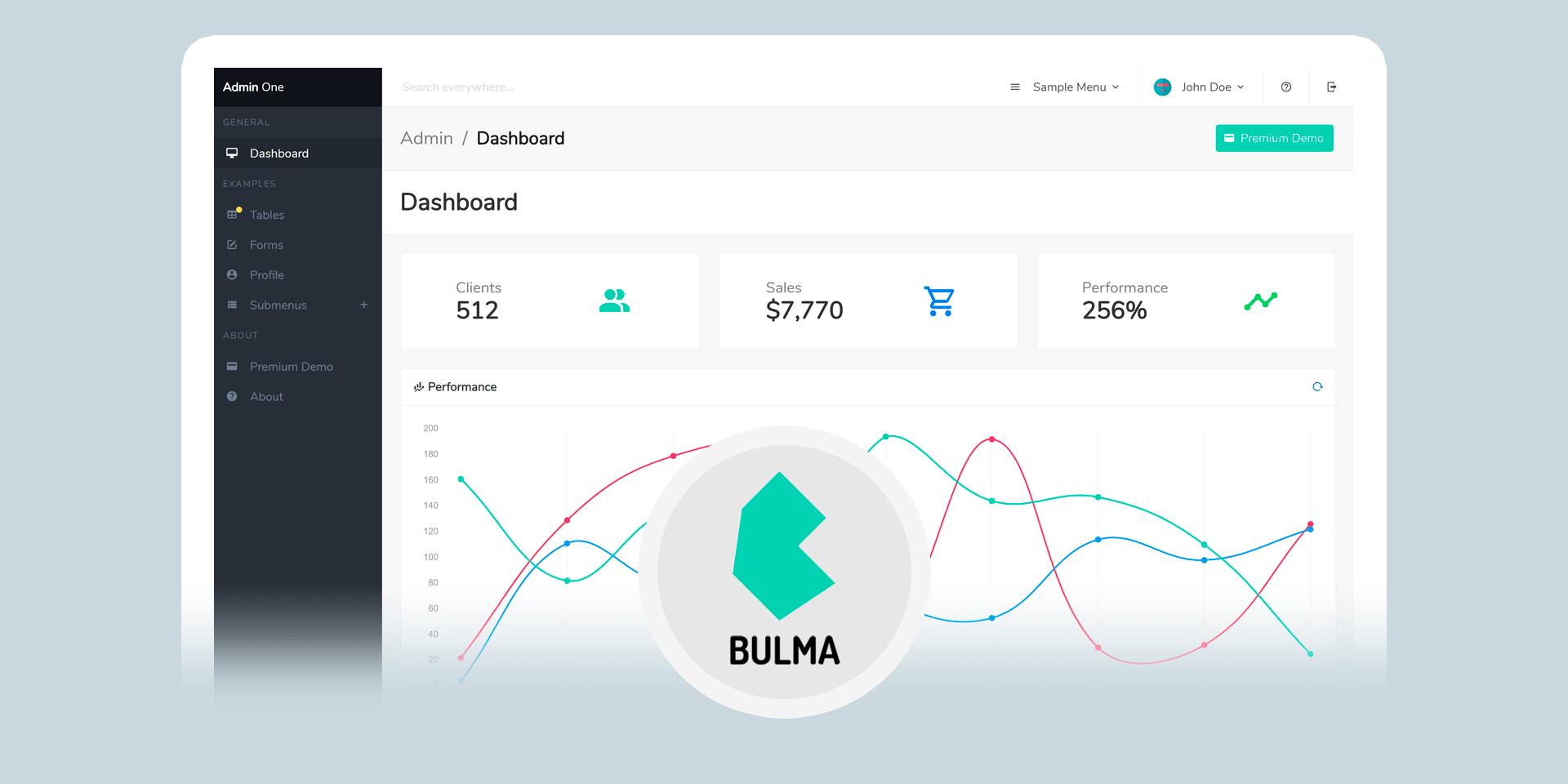 Admin One - Free Bulma Admin Dashboard